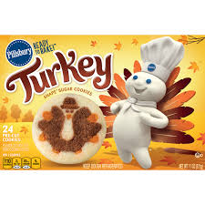 These easy sugar cookies are a pillsbury copycat recipe to those classic cookies. Pillsbury Ready To Bake Turkey Shape Sugar Cookies 11 Oz Instacart