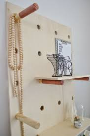 Cute DIY shelf for jewelry & knickknacks