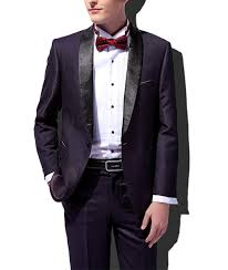 Balzer Designs For Man Us 56 09 15 Off New Dark Purple Mens Suit 2 Pieces Fashion Shawl Lapel Classic Tuxedos Graduation Party Flat Balzer For Party Blazer Pants In