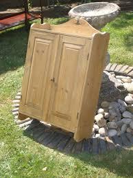 Pine Bathroom Cabinet Antique Victorian Pine Kitchen Bathroom Cabinet Cupboard 291857
