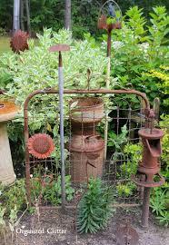 dana s fun outdoor junk decor gardens organized clutter