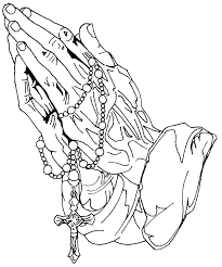 Rosary Coloring Pages Rosary Coloring Page Rosary Coloring Page