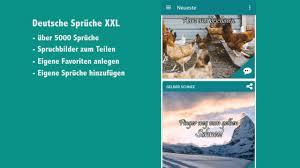 Deutsche Sprüche Xxl Android App Witze Sprüche Zitate Und