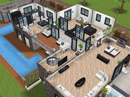 Sims House Design House 77 Level 2 Sims Simsfreeplay Simshousedesign Sims