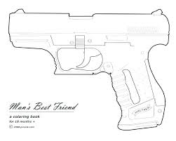 Nerf Gun Coloring Pages Gun Coloring Pages Gallery Coloring Pages