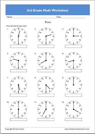 Free 3rd Grade Math Worksheets – EduMonitor