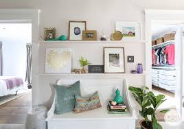 how to style a picture ledge 5 ideas
