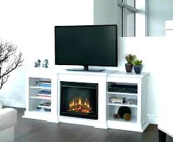 rustic electric fireplace uk heater tv stand