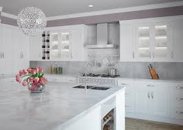 cw beech white shaker kitchen cabinets