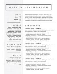 Resume Template With Photo Kickass Resume Templates Badass Resume Company 67