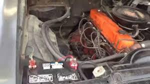 1969 Chevrolet Chevelle Malibu Sport Sedan 6 Cyl 250 engine - YouTube