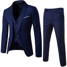 Cheap Mens Designer Suits Wedding Mens Suits Bridegroom Men Suit Groom Tuxedos Groomsmen Side Vent Slim Fit Best Man Suit Jacket Pant Vest Linen Suits For Men Mens Designer