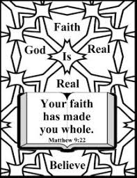 Free Bible Christian Coloring Pages About Faith Net Bible