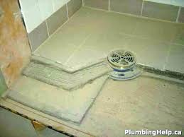 mud shower pan mud set shower pan bathroom tile mortar concrete how to construct a tiled mud shower pan