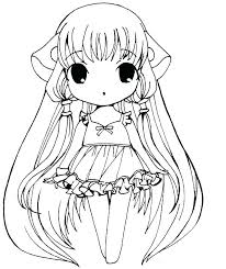 cute girl coloring pages page sheet color for s princess draw anime c cute girl coloring pages anime