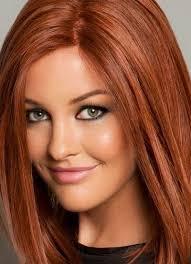 červené Vlasy Zelené Oči