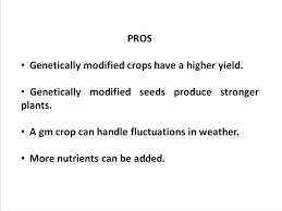 pros and cons of genetically modified foods best food  pros and cons of gmo s greentumble