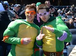 ninja turtles costumes for men. Simple Men Joe Spillo L And John Welch Both Of Yorktown Wear Teenage For Ninja Turtles Costumes Men T