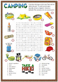 Summer Word List 23 Free August Worksheets For Your Esl Classes