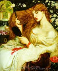 dante gabriel rossetti lady lilith oil painting reion