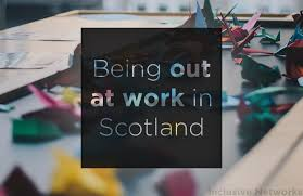 Problem At Work Stonewall Scotland Reveals Coming Out At Work Still A Problem