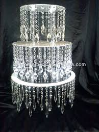 crystal cake stands acrylic crystal chandelier wedding cake stand wedding cake stand crystals cake stand