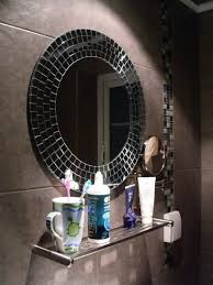 Mosaic Bathroom Mirrors Digihome Mosaic Mirror