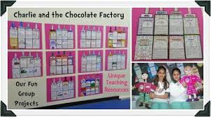 charlie and the chocolate factory by roald dahl teaching resources charlie and the chocolate factory examples of fun group projects
