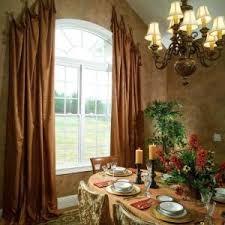 See the Curtains Hanging in the Window Reference for Traditional Dining  Room with Curtain Designed,