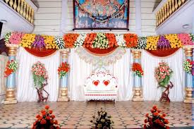 Flower Decoration Design Bangalore Stage Decoration Design 100 Flower Stage Decoration 21