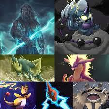 Pokemon Greek Gods