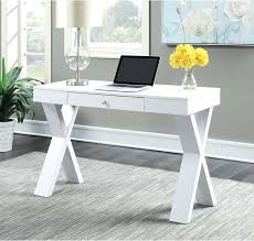 white gray solid wood office. Desk White Wood With Drawer Home Office Furniture Student Dorm Convenience Solid Gray L