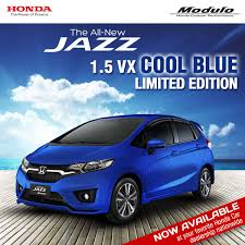 new car releases 2015 philippinesHonda Jazz Cool Blue limited edition launched in Philippines