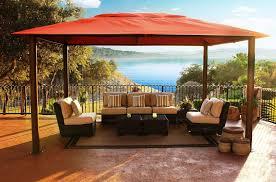 Image of: Large Backyard Canopy