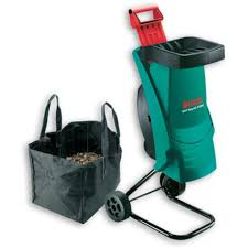 garden shredder. bosch axt rapid 2200 garden shredder with waste bag