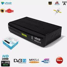 Buatan DVB T2 T3 Digital TV Set Top Box H.265 HD 1080P Digital Terrestrial  Receiver Mendukung M3U USB Youtube standar TV Box Penerima Satellite TV