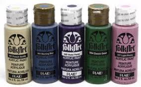 Folk Art Paint Chart Plaid Folk Art Acrylic Paints For Decorative Artists And