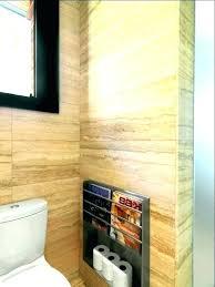Bathroom Wall Magazine Holder Delectable Wall Mounted Bathroom Magazine Rack Bathroom Wall Magazine Holder