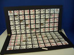 Wooden Sequence Board Game This one of a kind enlarged Sequence Game board features Jumbo 23