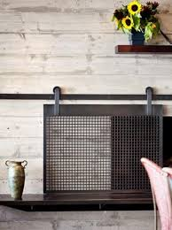 fireplace screen and glass doors remarkable decorating ideas 22