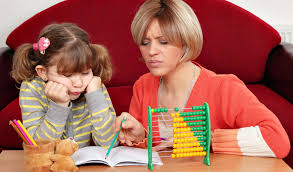 math u can a math blog for parents mom helping daughter math homework