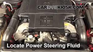 Power steering fluid provides hydraulic assist for the power steering system. Check Power Steering Level Mercedes Benz Sl500 1990 2002 1998 Mercedes Benz Sl500 5 0l V8