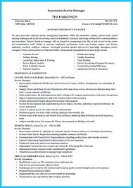 To Write A Solid Automotive Resume Requires You Some Criteria