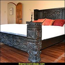 tropical themed furniture. Exotic Bedroom Decorating Ideas - Global Style Decor Furnishings Tropical Themed Furniture Z