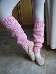 Leg Warmer Knitting Pattern Simple Easy Peasy Ballerina Leg Warmers AllFreeKnitting