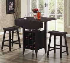 marvelous image of small kitchen dining room decoration using small red flower dining table centerpiece including backless black wood kitchen chair and leaf