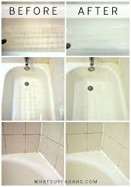 cleaning bathroom tips how to clean a bathtub wish i would have used this before easy awesome best bathtub cleaner