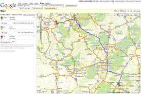 download driving direction google map major tourist attractions