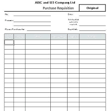 Purchase Request Form Template Excel Purchase Requisition Template Sample Purchase Request Form