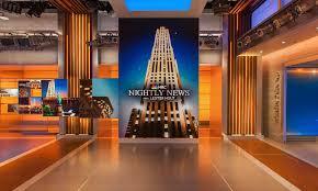 Nbc Design Nbc Nightly News Studio 3c Studio Design Gallery Nbc